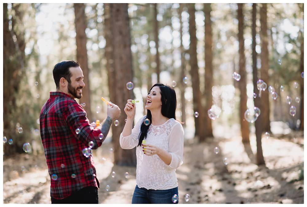 Kristin and Ivan | Big Bear Engagement Photographer