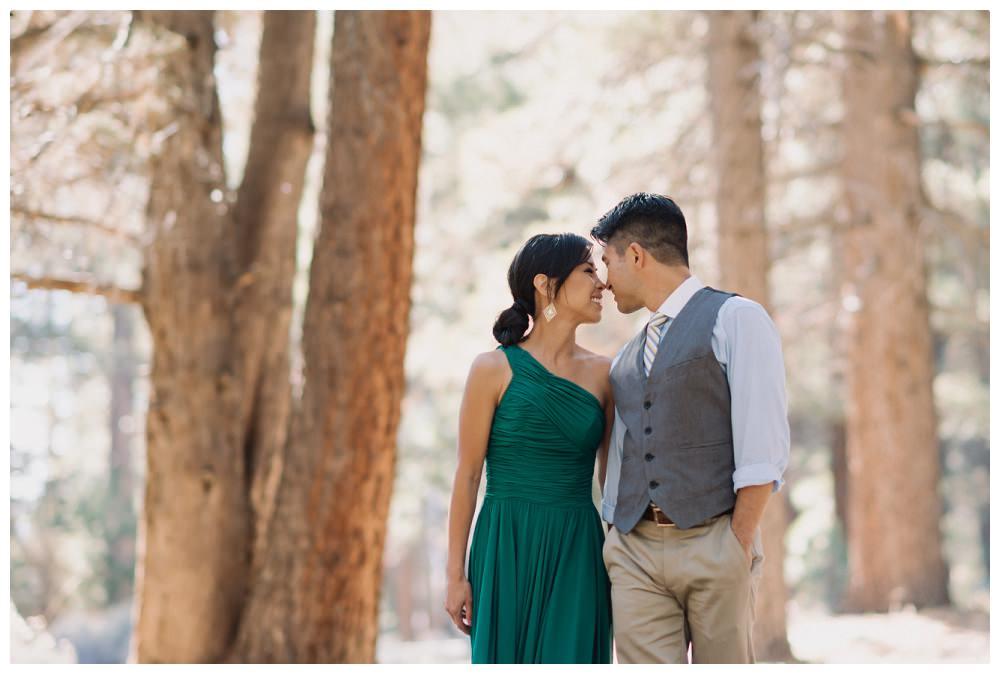 Cyndi and Danny | Big Bear Engagement Photography