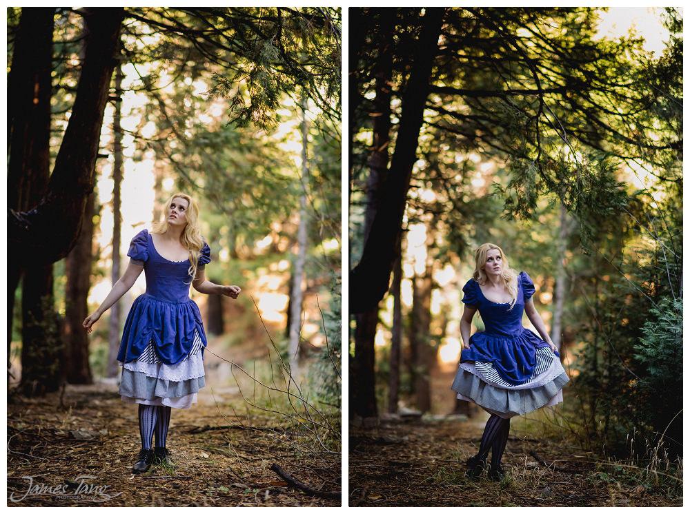 Alice In Wonderland concept photo shoot
